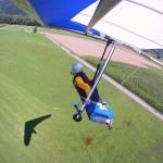 Greifenburg, landing approach