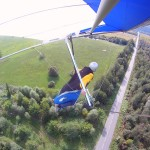 Sapenay, landing aproach