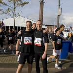 7,5 km run at the Amsterdam Maraton