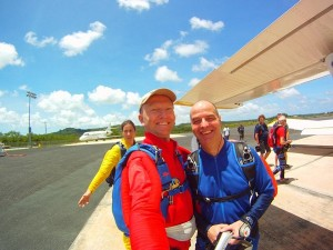 P Skydive plane 2