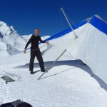 Grindelwald, Switzerland. Preparing my glider