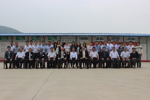 Group picture on site