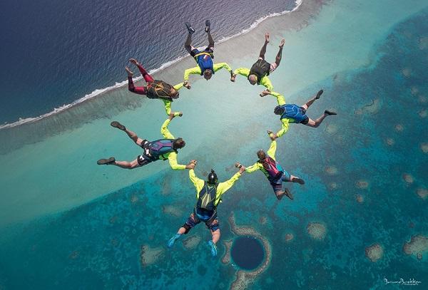 The Blue Hole, Belize 2018