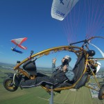Taken by Michel from a paramotor